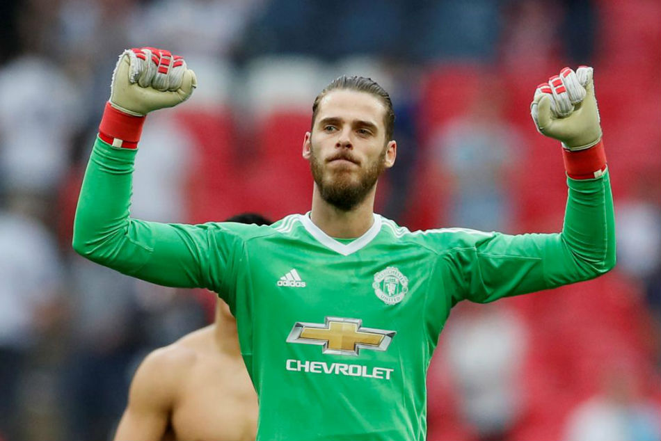 Manchester United Line Up De Gea Replacement