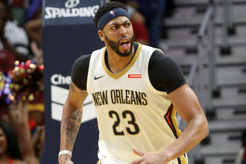 New Orlean Pelicans star Anthony Davis