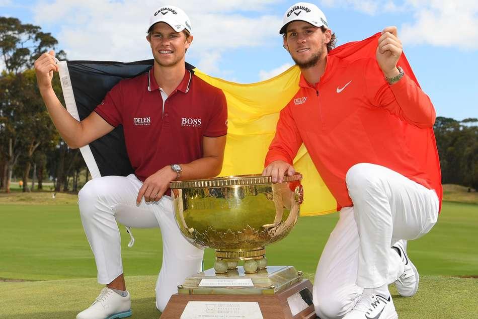 Thomas Pieters Thomas Detry Belgium World Cup Of Golf