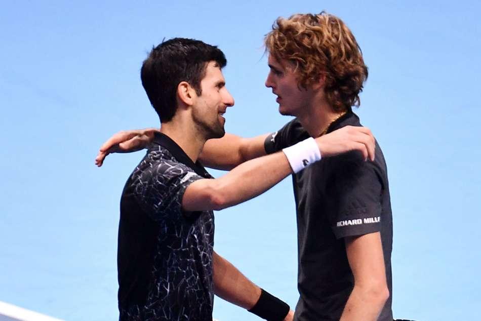 Djokovic hails much-improved Zverev