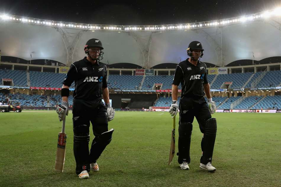 Pakistan New Zealand Share Odi Series Rain Dubai