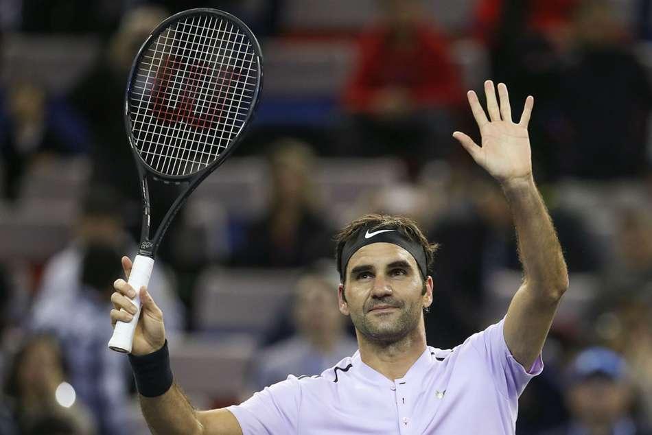 Roger Federer Fabio Fognini Paris Masters Report