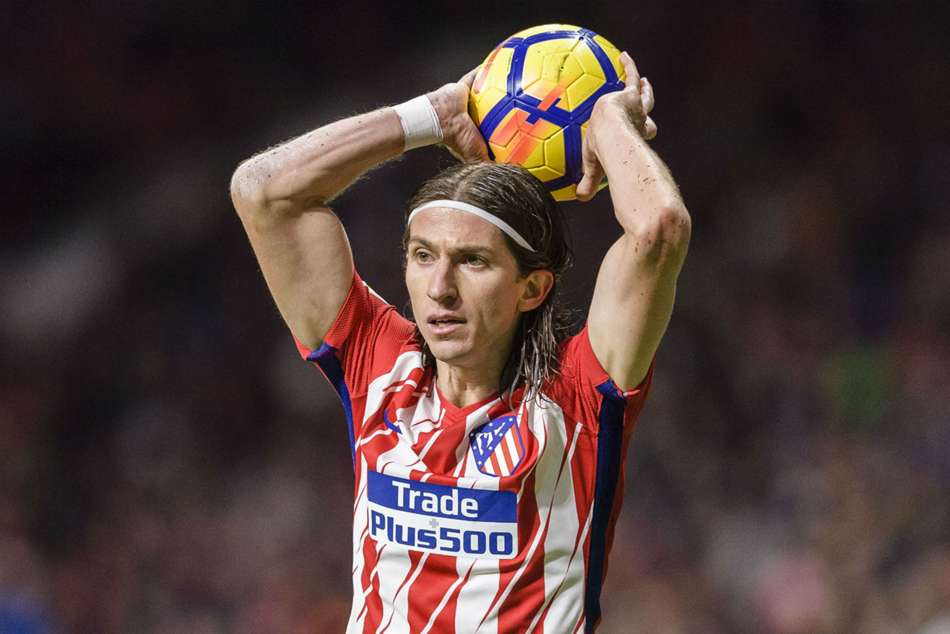 Left back- Filipe Luis (Atletico Madrid)
