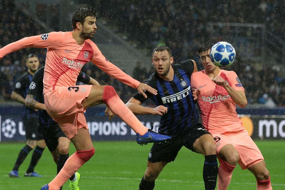 Inter 1 Barcelona 1 Blaugrana Through Despite Icardi Leveller