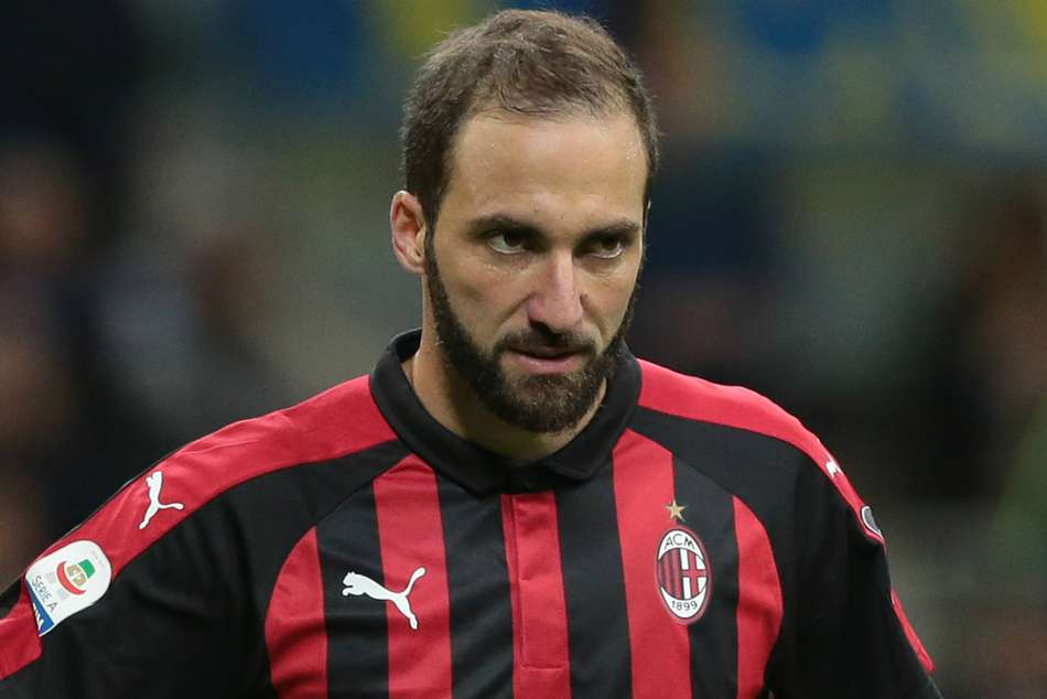 Gonzalo Higuain Fit To Face Juventus Ac Milan Serie A
