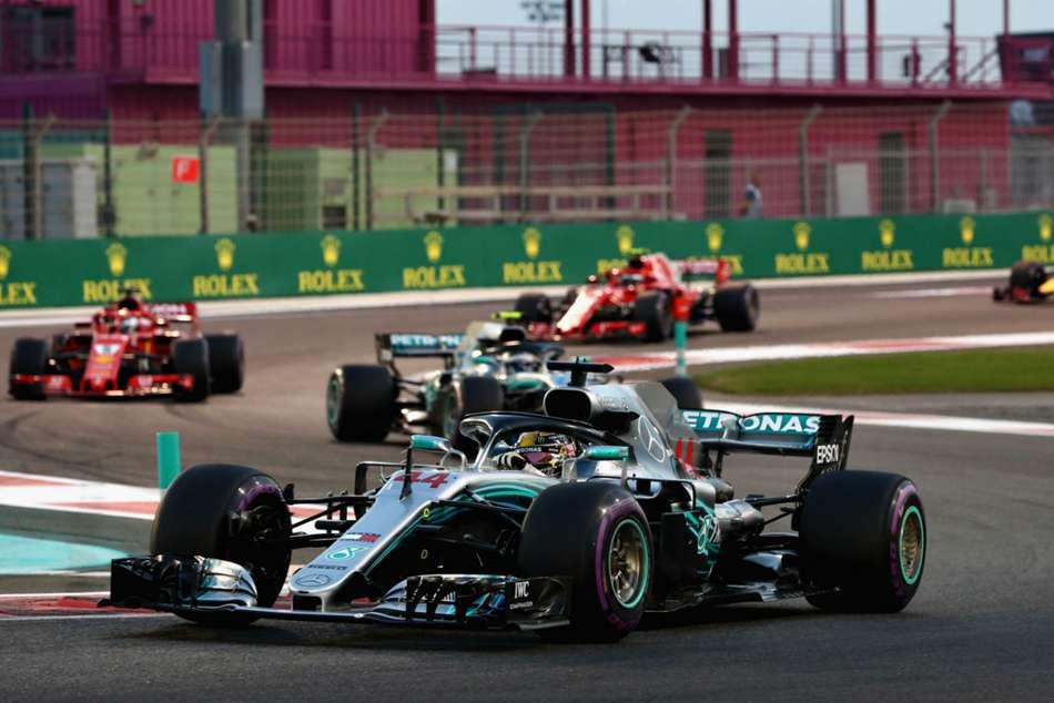 Lewis Hamilton Abu Dhabi Grand Prix Formula One