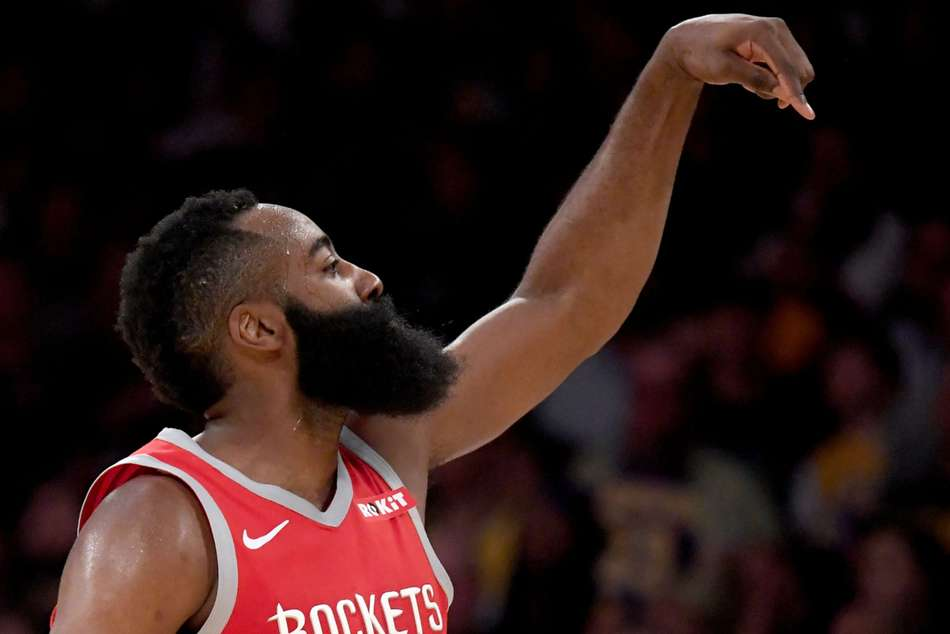 James Harden starred for Houston Rockets with 27 points