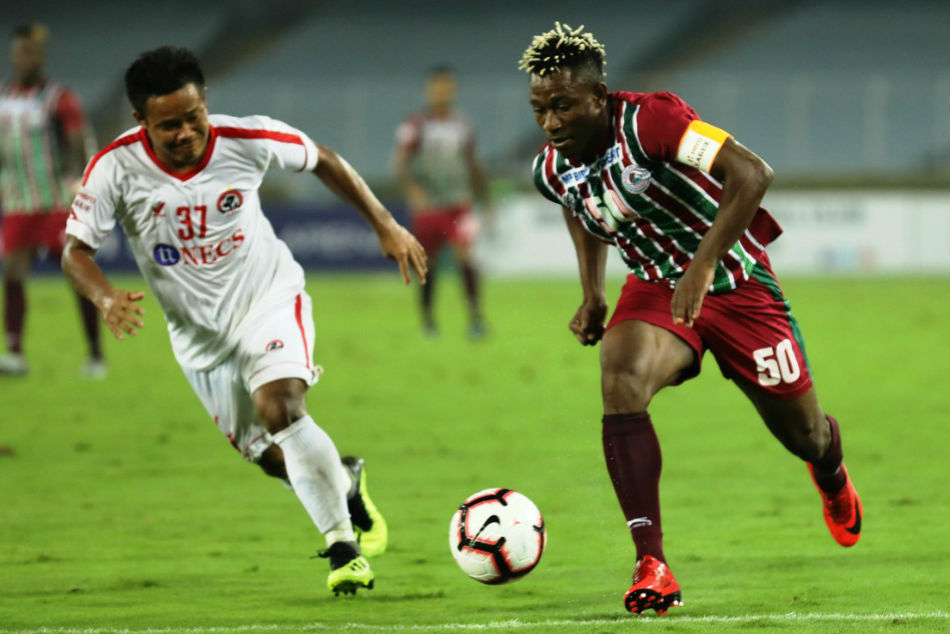 I League Brilliant David Earns Point Aizawl Vs Mohun Bagan
