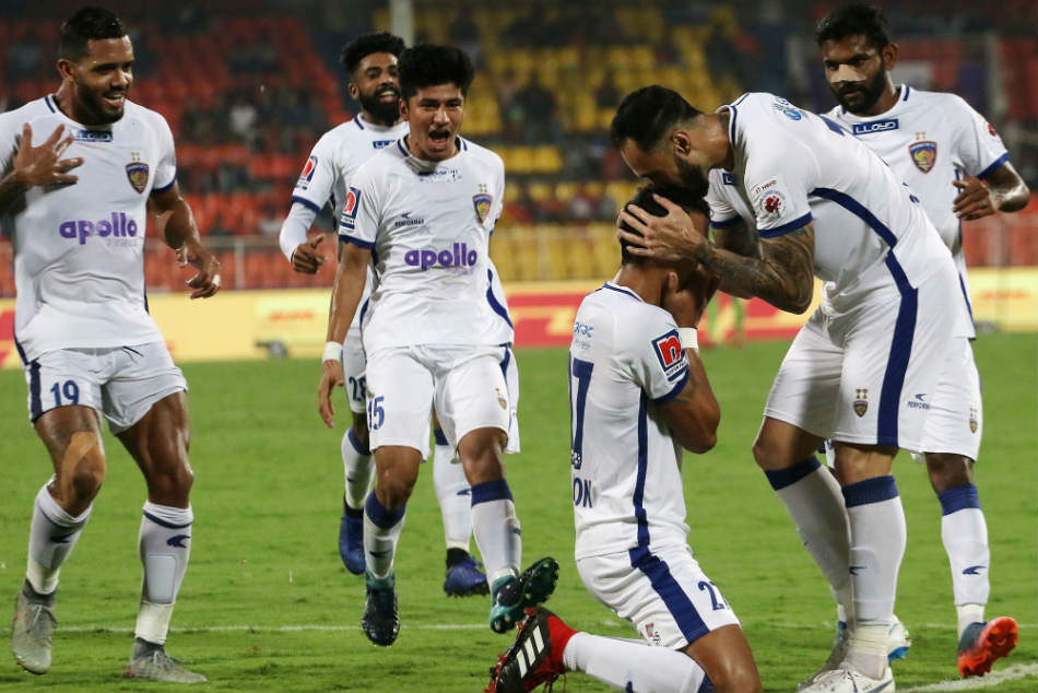 Isl Chennaiyin Recover Leave Pune Down The Dumps