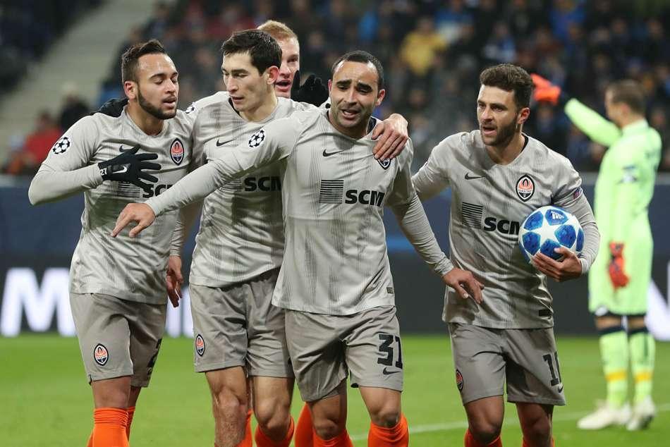 Champions League Hoffenheim Shakhtar Donetsk Taison