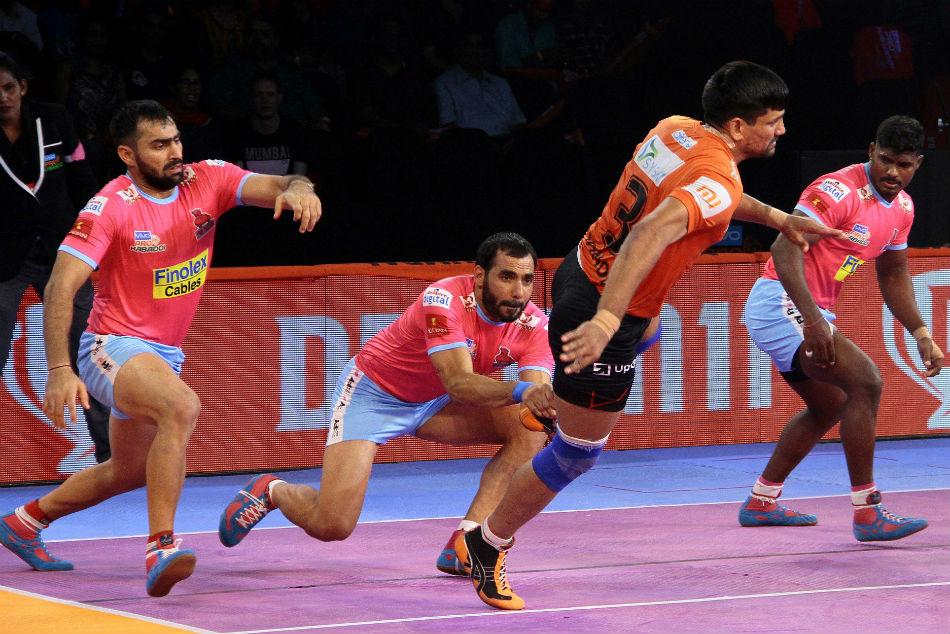 Pkl 2018 U Mumba Dominate Jaipur Pink Panthers 48