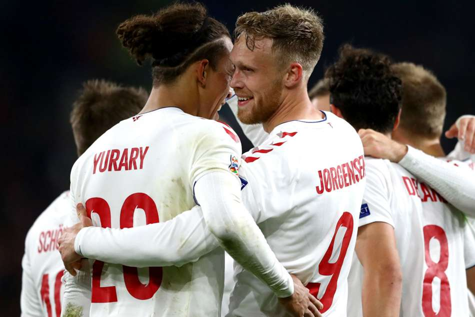 Denmark Seal Nations League Promotion