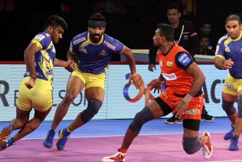 Bengaluru Bulls registered their first home win. Image: PKL Media