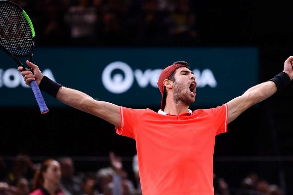 Inspired Khachanov Stuns Djokovic Claim Paris Title