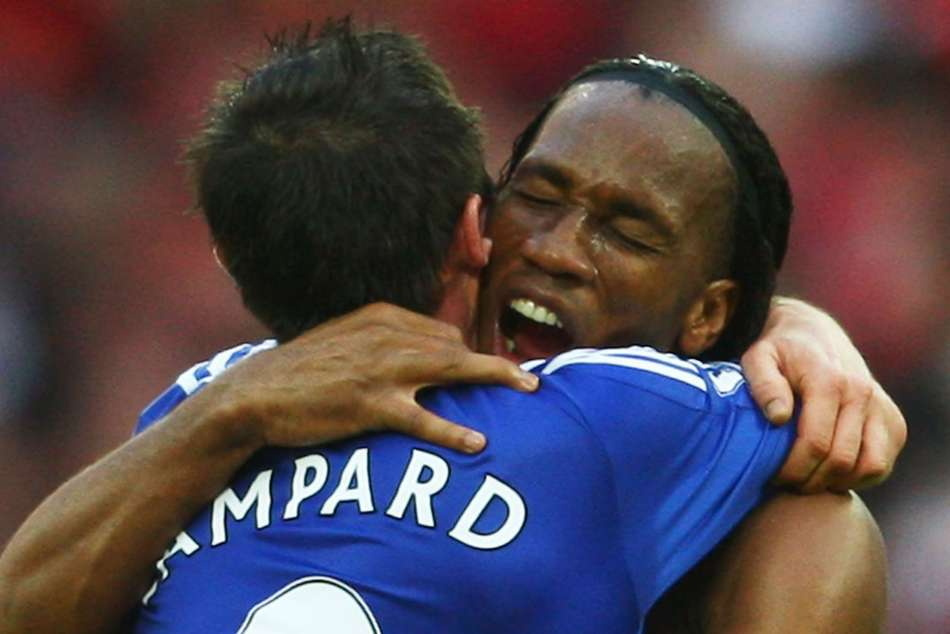Speaking at a Chelsea fan event in Tokyo, Didier Drogba highlighted Frank Lampard as the player he learned most from at Stamford Bridge.