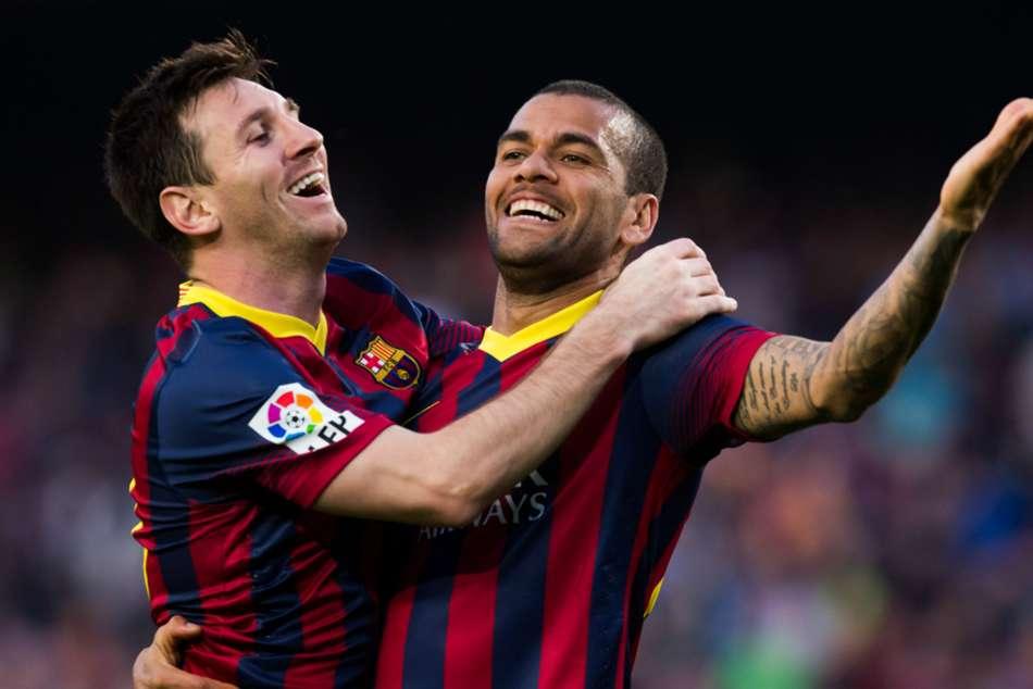 Barcelona Lionel Messi Dani Alves Special Relationship