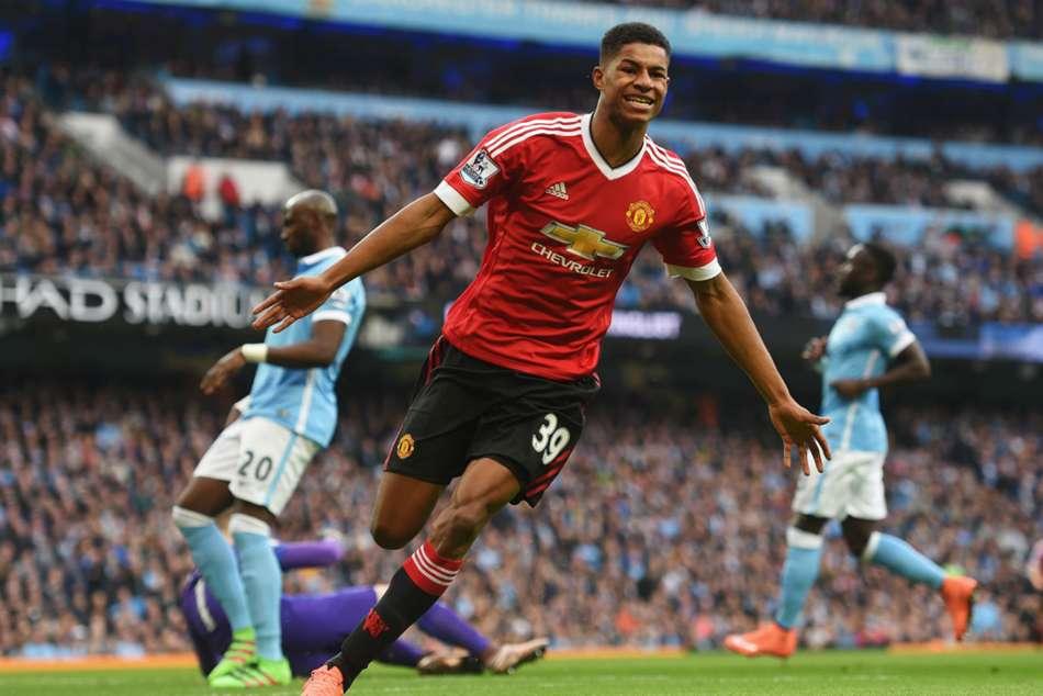 Marcus Rashford Manchester United City Derby Winner Finest Hour