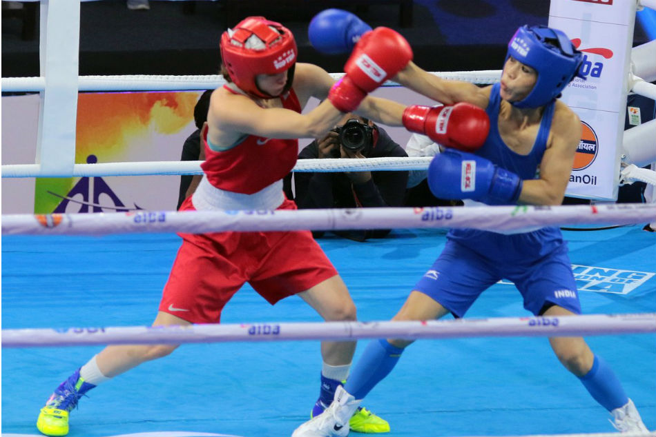 World Boxing Championships Mary Kom Storms Into Quarters Sarita Devi Loses