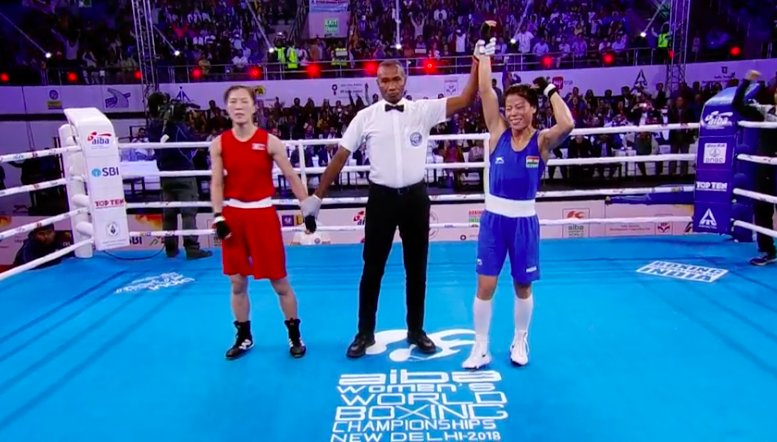 Boxing Mc Mary Kom India Storms Into World Championships Finals With Emphatic Win Over Kim Hyang