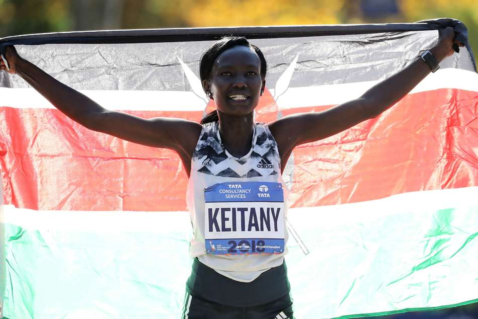 Four-time New York Marathon winner Mary Keitany