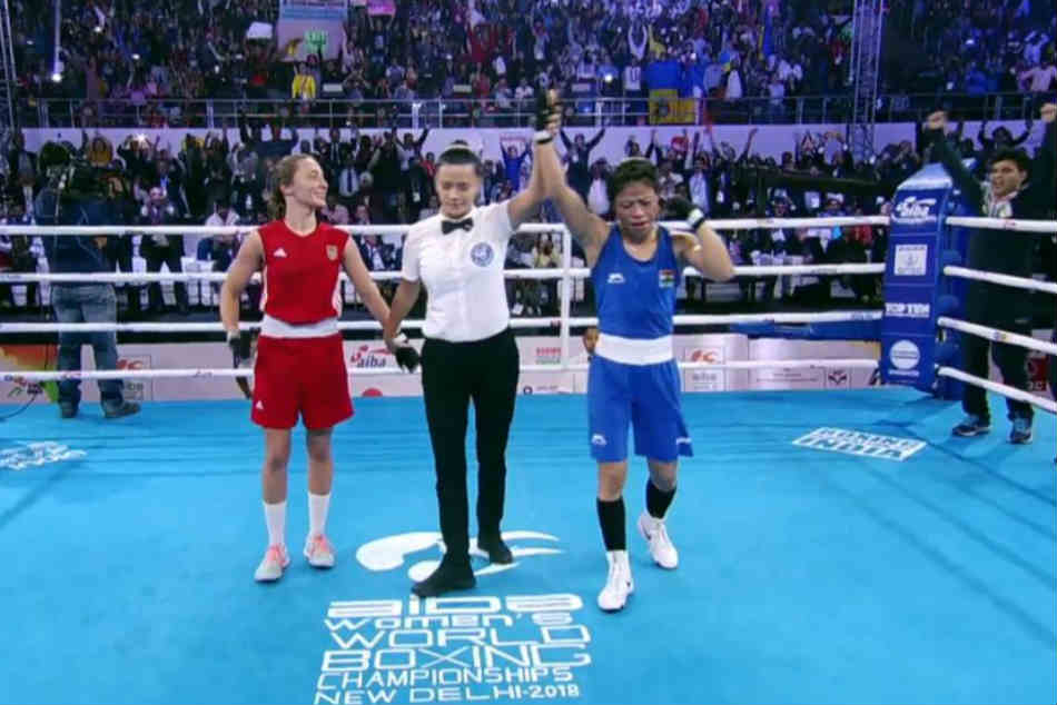 Boxing Worlds Mary Kom Clinches Historic Gold In 48 Kg Categor