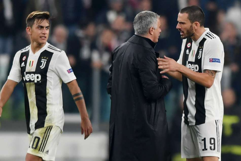 Jose Mourinho says Juventus fans insulted him