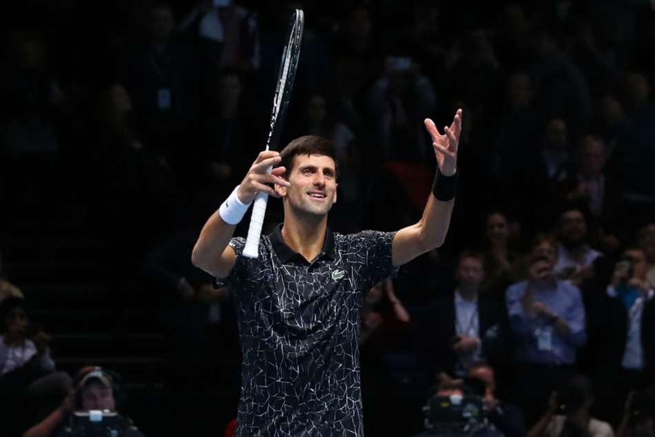 Novak Djokovic continued his winning spree