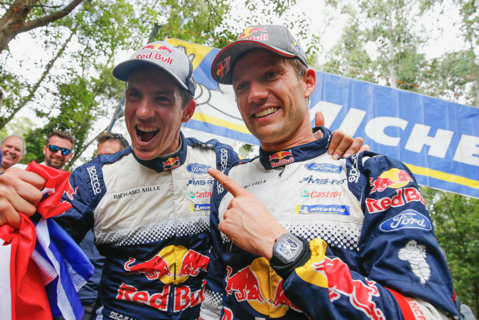 Ogier Wins Sixth Successive World Rally Championship Crown