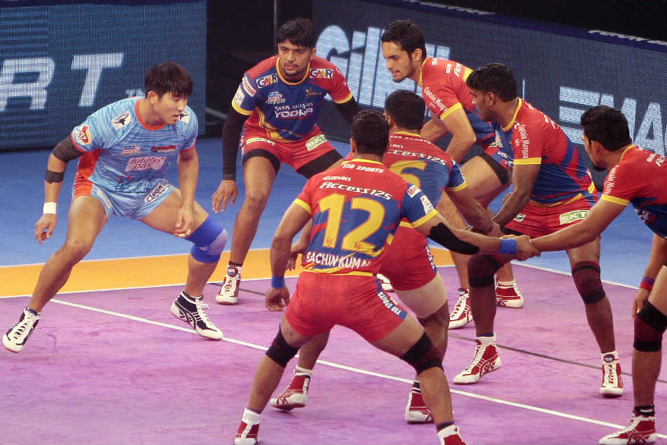 Pkl Up Yoddha Play Thrilling Draw With Bengal Warriors