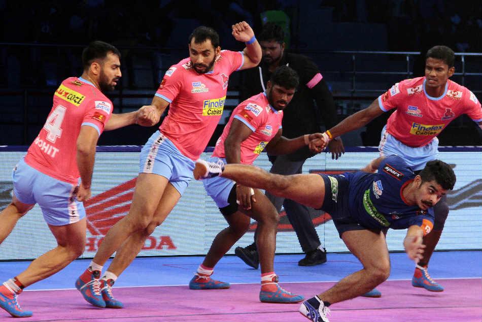 Pkl Jaipur Pink Panthers Outshine Haryana Steelers