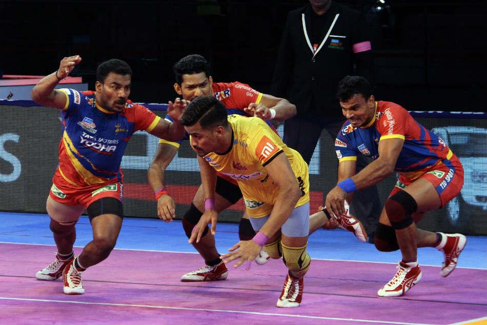 Pkl Up Yoddha Squander Lead Draw With Telugu Titans