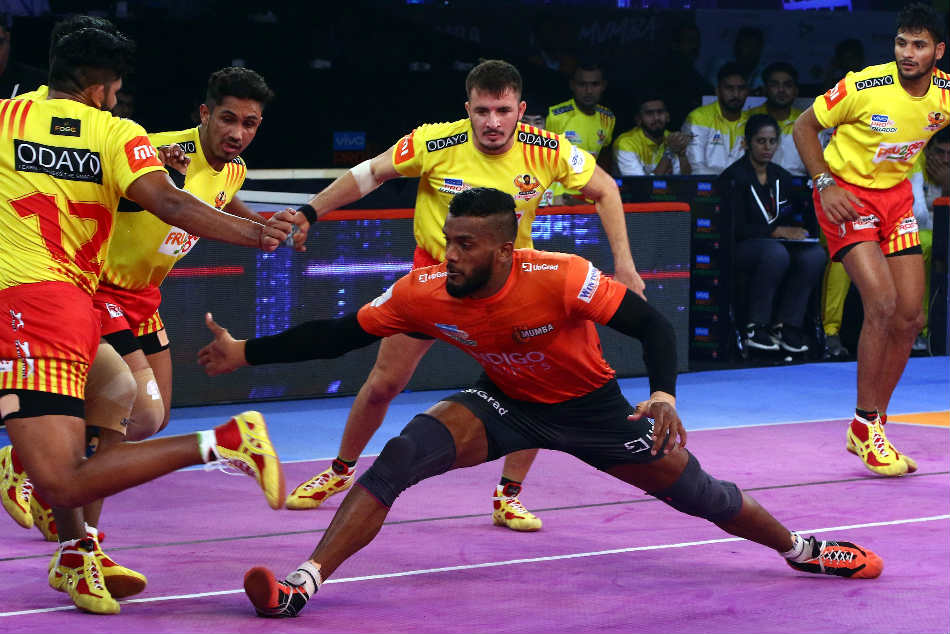Pkl Gujarat Fortunegiants Shock U Mumba
