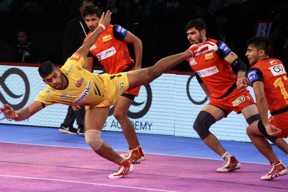 Pkl Bengaluru Bulls Hammer Telugu Titans