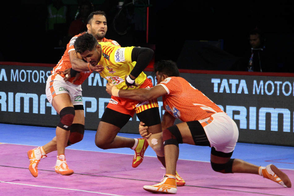 Pkl Gujarat Fortunegiants Clinch Comfortable Win Over Puneri Paltan