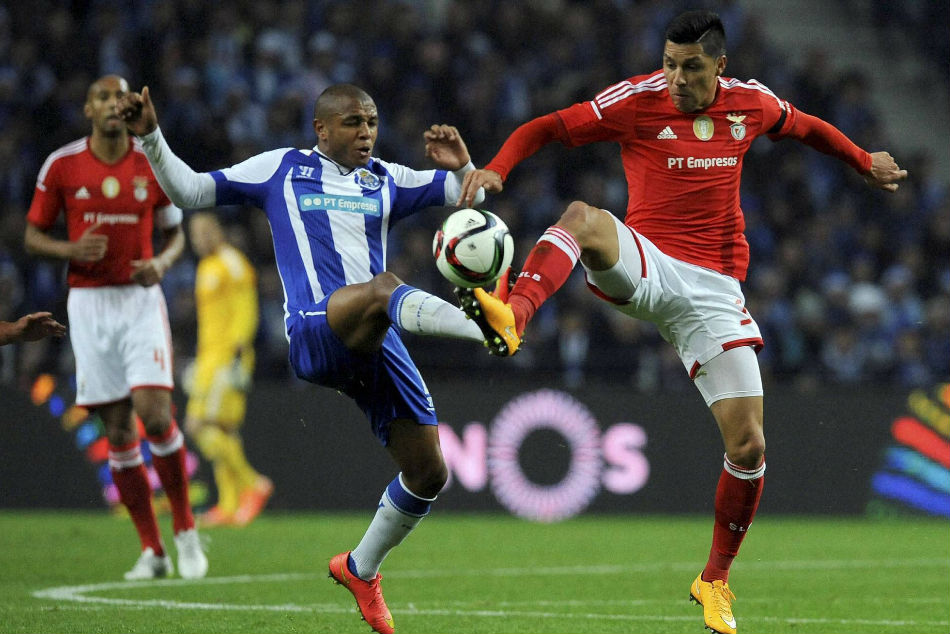 FC Porto star winger Yacine Brahimi (left) linked with Premier League move
