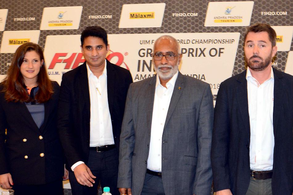 F1h2o Amaravati Calls On The Sports Loving Bengaluru