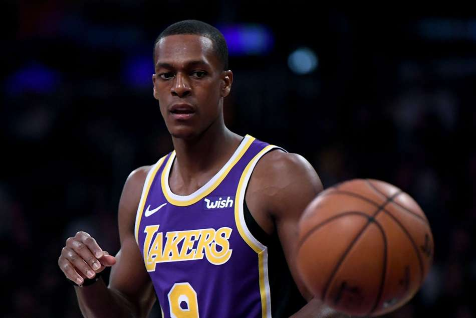Rajon Rondo Broken Hand Los Angeles Lakers Miss Few Weeks Nba