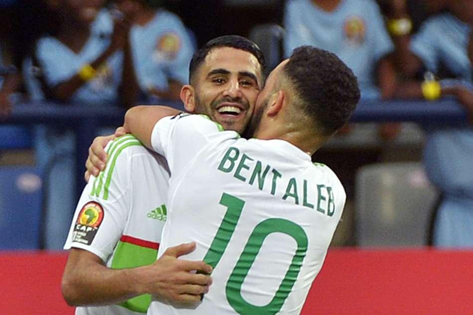 Riyad Mahrez Double Fires Algeria 2019 Africa Cup Of Nations