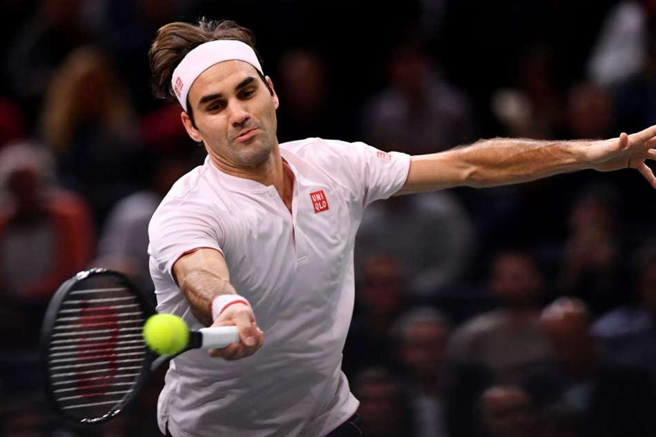 Roger Federer Kei Nishikori Paris Masters Report