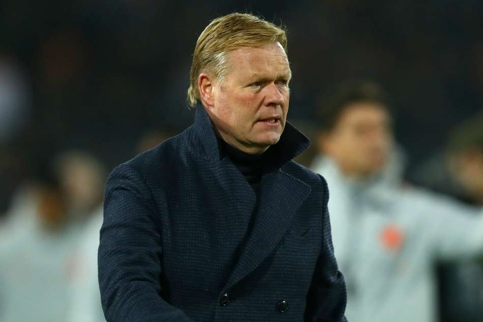 Koeman Netherlands Deschamps France