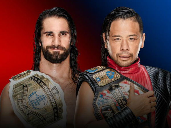 Raw's Intercontinental Champion vs Smackdown's US Champion