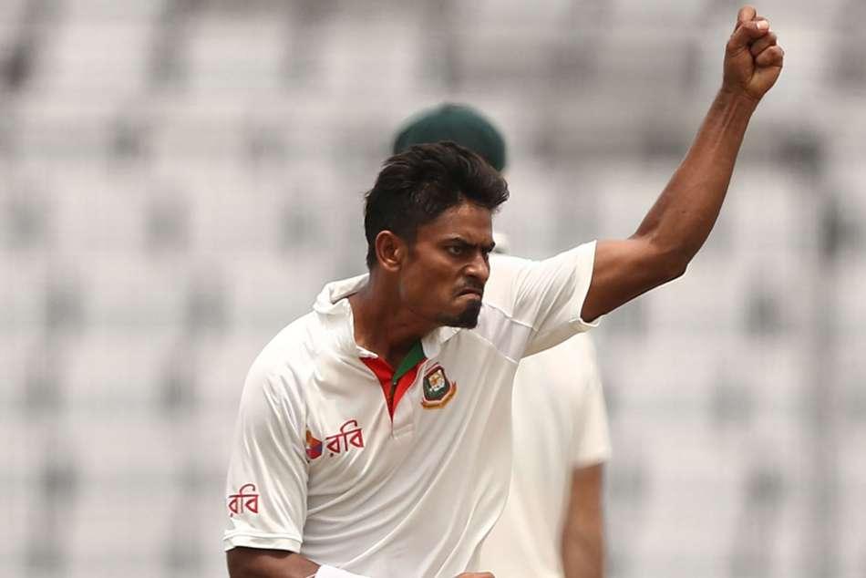 Taijul Islam Bangladesh Zimbabwe Brendan Taylor Second Test Dhaka