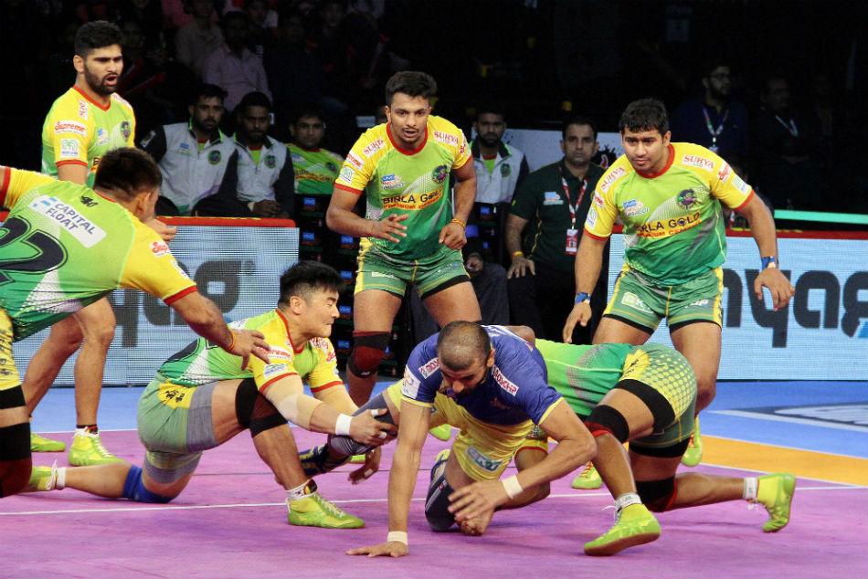 Pkl 2018 Patna Pirates Thrash Tamil Thalaivas 45