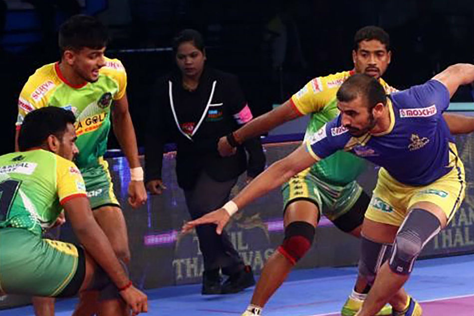 Pkl 2018 Thakur Pardeep Star As Tamil Thalaivas Patna Pirates Play Out A Thrilling Tie