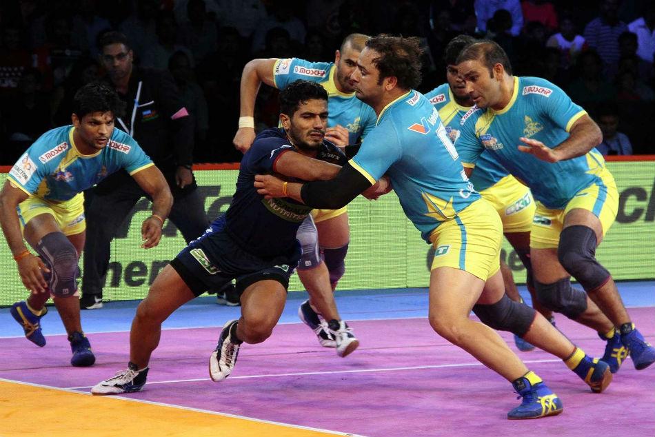 Pkl 2018 Khandola S Fighting Effort Helps Haryana Steelers Tie Against Tamil Thalaivas