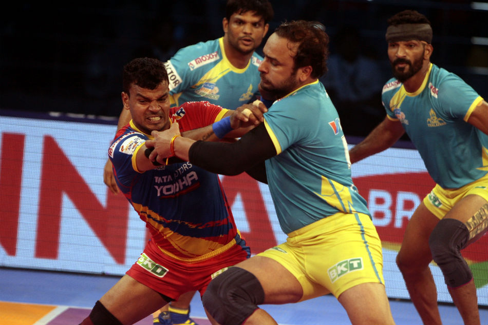 Pkl 2018 Tamil Thalaivas Register Convincing Victory Over Hosts Up Yoddha