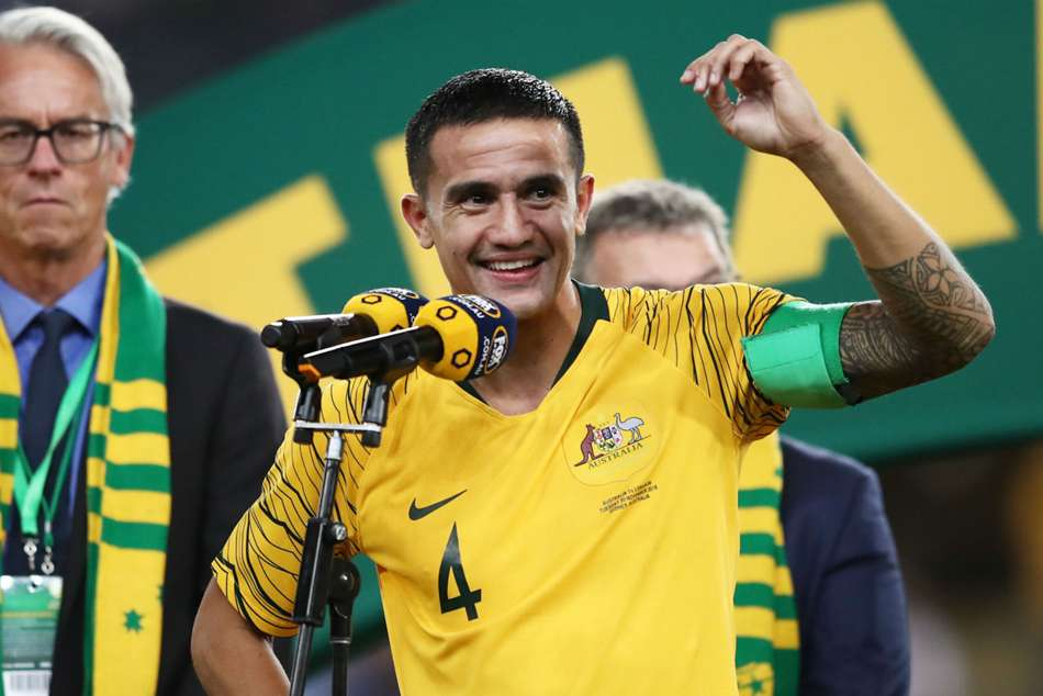 Tim Cahill Sheds Tear Phenomenal Australia Career
