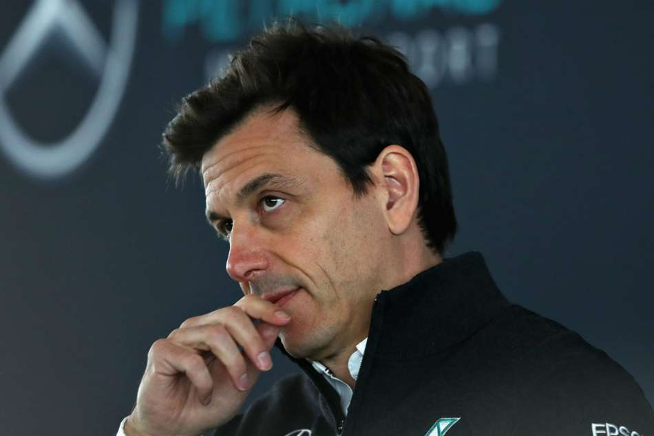 Executive Director of Mercedes Toto Wolff