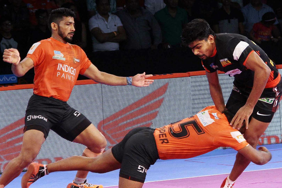 PKL 2018: U Mumba narrowly edge out Bengaluru Bulls