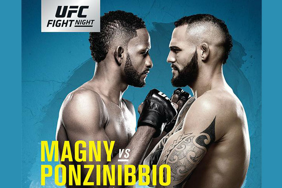 Neil Magny meets Santiago Poznibbio in the main event (Image: UFC Twitter)